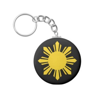 Philippine Sun Keychain