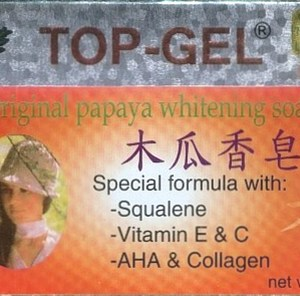 Top-Gel Papaya Whitening Soap