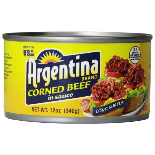 Corned Beef in Sauce