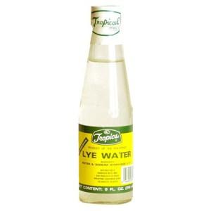 Bottle of Lye Water