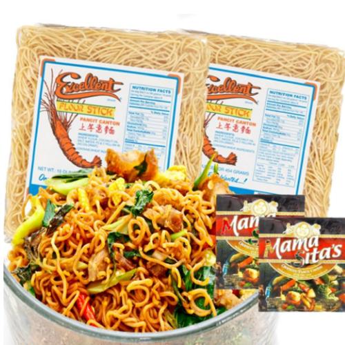 Pansit Canton ingredients