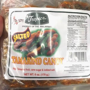 Tamarind Candy with Salt