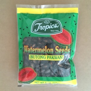 Watermelon Seeds (Dried & Salted)