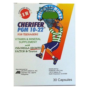Cherifer vitamins box label