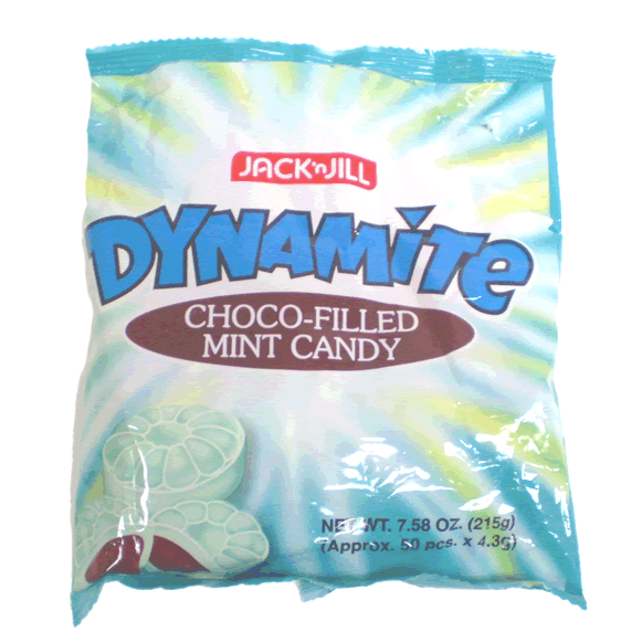 Chocolate-Filled Mint Candy