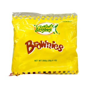 Lemon Square Brownies (Philippines)