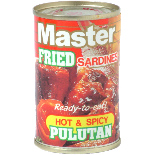 Hot & Spicy Pulutan Sardines