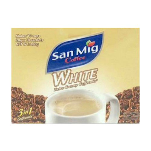 San Mig Coffee 3-in-1 White
