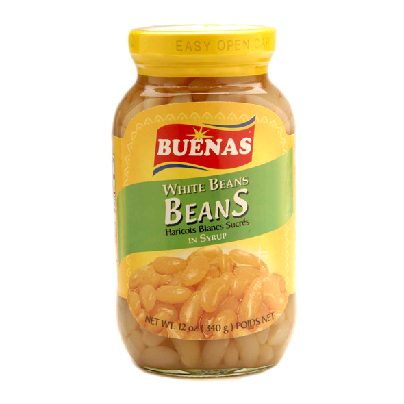 Sweetened White Beans