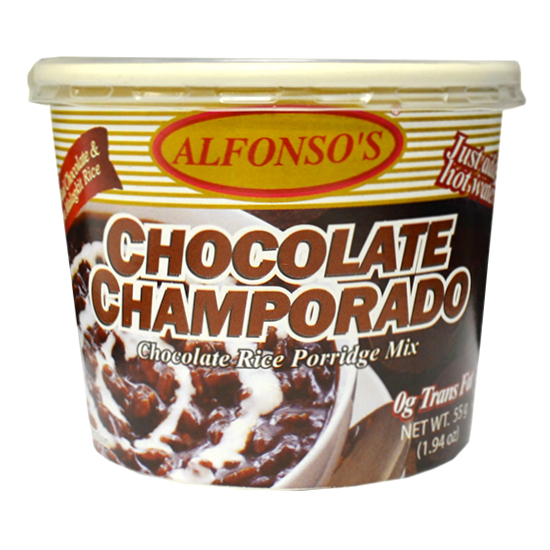 Chocolate Champorado Instant Cup