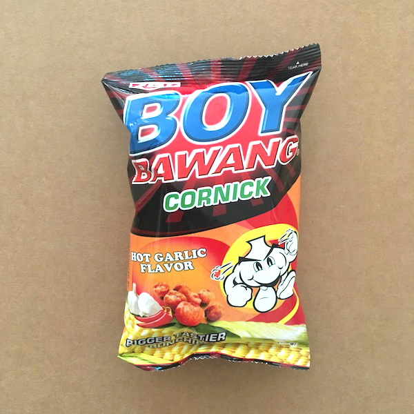 Boy Bawang Hot Garlic Flavor
