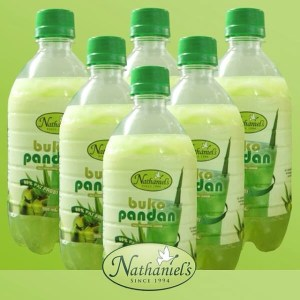 Coconut Pandan Juice Bottles