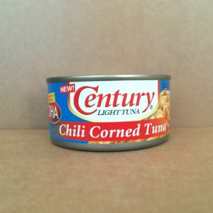 Chili Corned Tuna: Canned in the Philippines