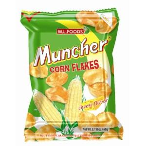 Muncher Corn Flakes Cheese Snack