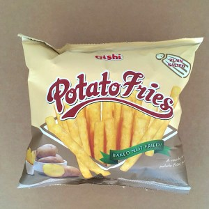 Oishi Potato Fries Plain Salted