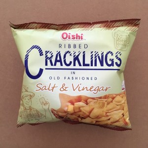 Cracklings in Old-Fashioned Salt & Vinegar