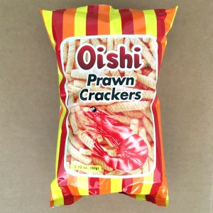 Oishi Shrimp Crackers of the Philippines!