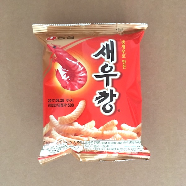 Korean shrimp crackers