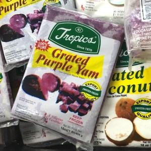 Purple Yam Grated and Frozen