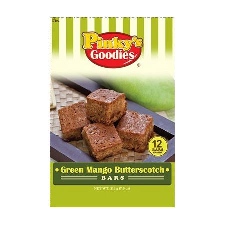 Green Mango Butterscotch Bars
