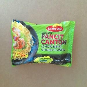 Pancit Canton Calamansi Flavor