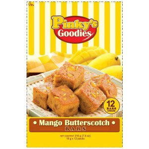 Philippine Mango Butterscotch Bar