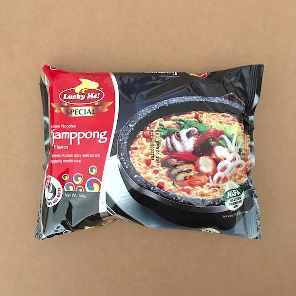 Instant Jjamppong noodles!