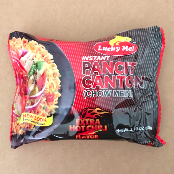 Lucky Me Hot Chili Pancit Canton