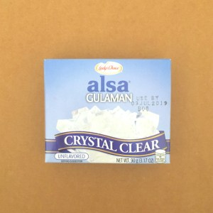 Clear Unflavored Gulaman Powder