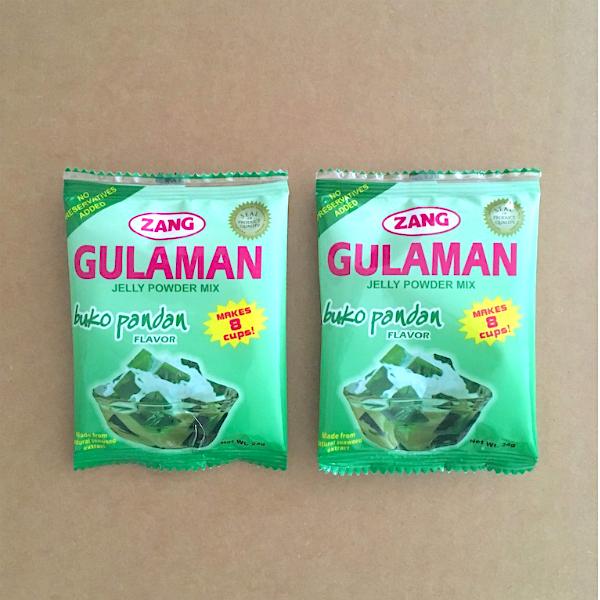 Buko Pandan Gulaman Mix