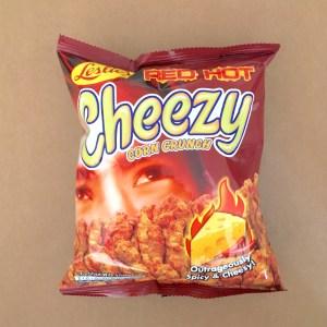 Spicy Cheesy Corn Crunch Snack