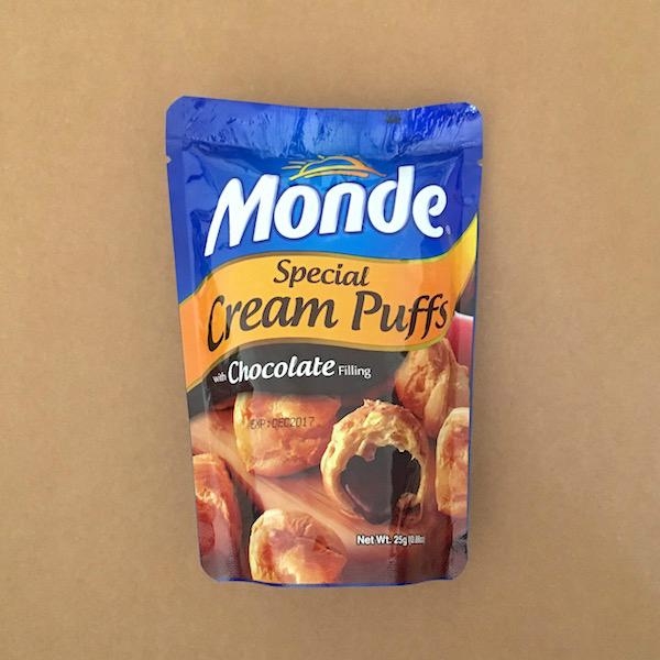 Cream Puffs Choco Filling