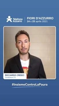video messaggio Riccardo Cresci