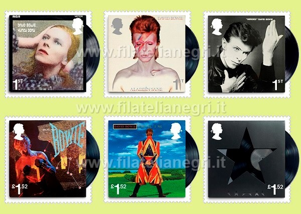 David Bowie - Stamps