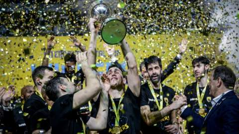 AEK κύπελλο