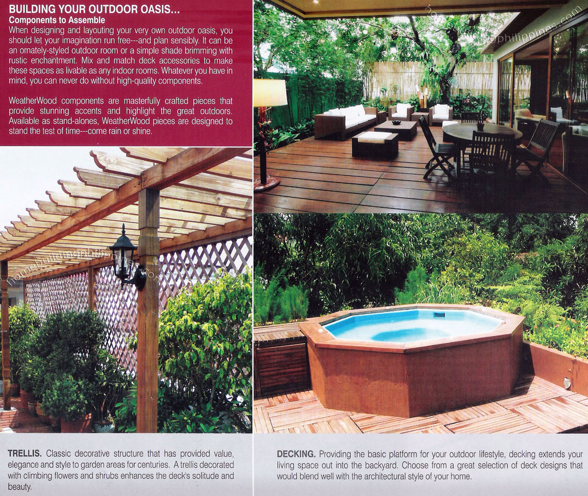 All Weather Outdoor Wood For Trellis Amp Decking Philippines