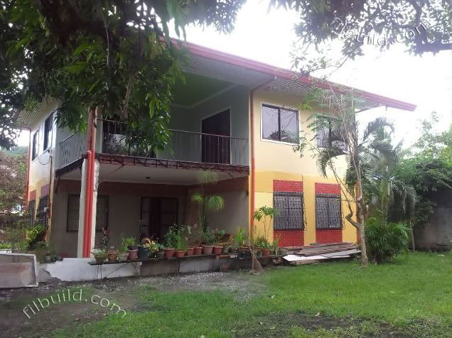 Real Estate Davao Two 2 Storey House With Huge Lot For Sale