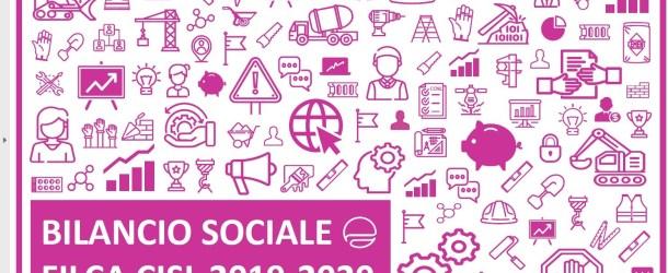 E' ONLINE IL BILANCIO SOCIALE FILCA 2019-2020