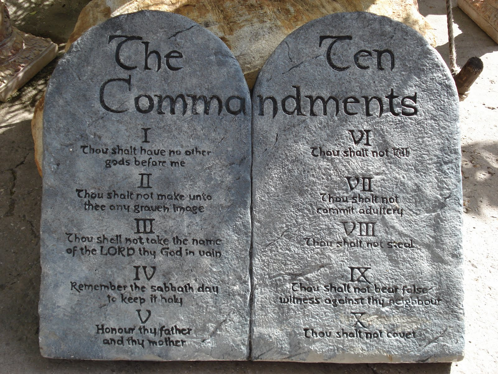 What Is The Origin Of The Ten Commandments