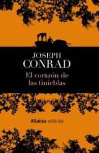 """""""El corazón de las tinieblas"""", editorial Alianza."""