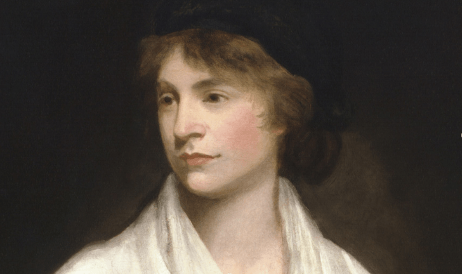 La filósofa Mary Wollstonecraft nació en Spitalfields (Inglaterra) el 27 de abril de 1759 y murió el 10 de septiembre de 1797. Unos días antes había dado a luz a su hija Mary, que años más tarde escribiría la obra