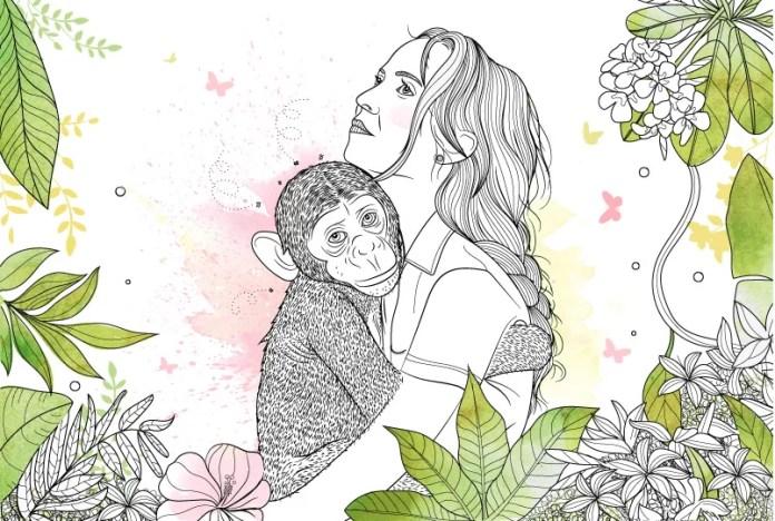 Ilustración de Lupe Cruz, directora de arte de la colección de cuentos del proyecto