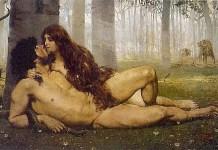 """El """"Paraíso perdido"""" es un poema narrativo que se adentra en los sucesos del génesis con la creación de Adán y Eva y su expulsión del paraíso"""