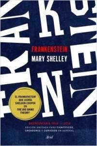 """Ariel ha hecho una versión del cla´sico de Mary Shelley para """"científicos, creadores y curiosos en general""""."""