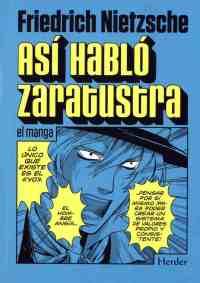 """Versión manga de """"Así habló Zaratustra"""", editado por la otra H (Herder)."""