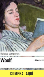"""Relatos completos"" de Virginia Woolf publicados por Alianza Editorial."