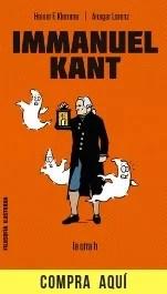 """""""Immanuel Kant"""", la nueva biografía de la colección Filosofía ilustrada de La Otra H."""