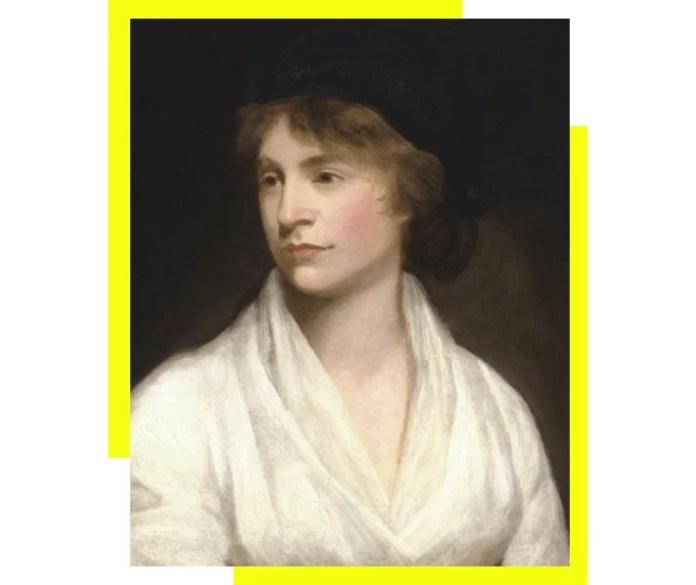 Mary Wollstonecraft (1759-1797). Retrato de John Opie (1761–1807) hacia 1797. Está en la National Portrait Gallery de Londres (Reino Unido). Imagen distribuida por Wikimedia Commons bajo licencia PD-Art.