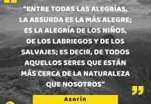 Frase filosófica: Azorín #1