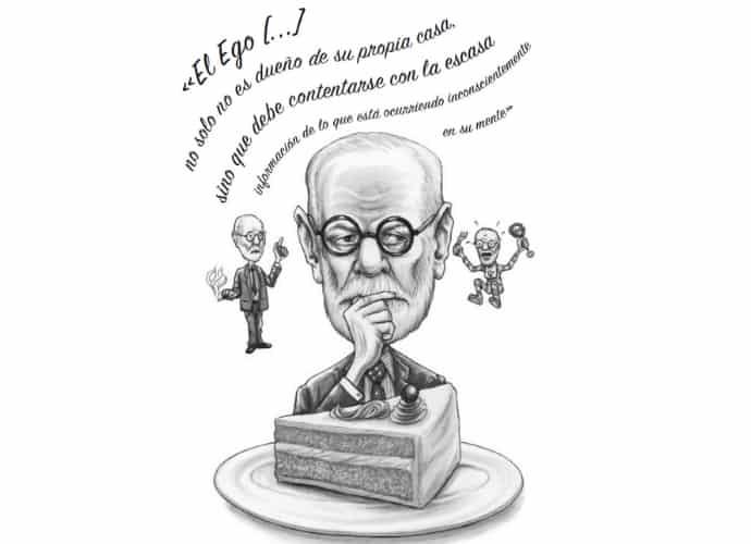 Gareth Southwell ilustra el libro «¿Qué haría Freud...?», de Sarah Tomley, publicado por Larousse.